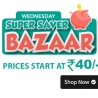 Shopclues Wednesday Super Bazaar Products Starts Rs.40